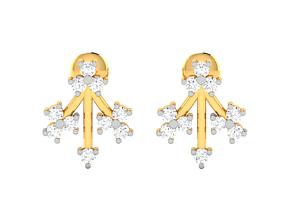 printable jewellery Women earrings 3dm render detail