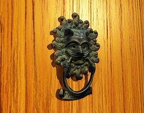 3D model Lion Door Knocker