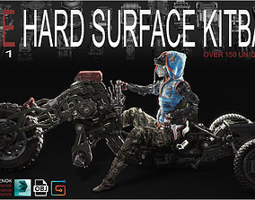 Hard Surface Kitbash Volume 1 3D model