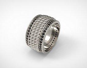 David Yurman Maritime Rope Band Ring 3D printable model 2
