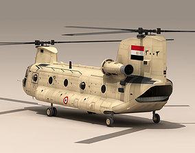 CH-47 EAF 3D model