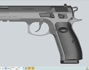 Canik SHARK FC CAD NURBS Files Bonus Max 3D model