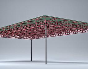 3D asset Spaceframe