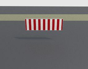 Construction Barrier Version 2 600-37 500x1600mm 3D asset