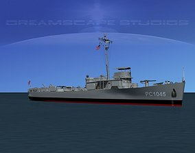 3D model USS PC-1045 Submarine Chaser