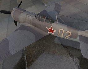 Lavochkin La-5FN 3D model lavochkin