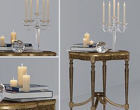 Table Tavolino quadrifoglio 3D model