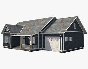 3D model Traditional House 10