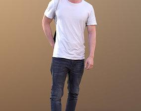 Rick 10497 - Walking Casual Guy 3D asset