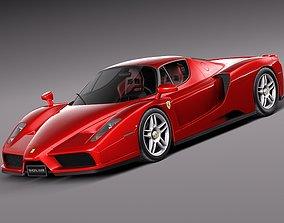 3D Ferrari Enzo F60 2002