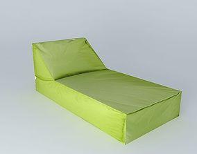 Green sunbathing 3D
