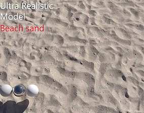 3D Beach Sand Scan dust