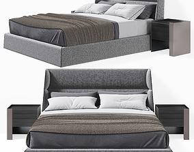 Chloe Bed Poliform by Carlo Colombo 3D model