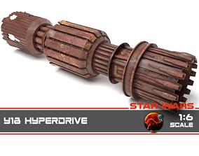 3D print model Star Wars - Y18 Hyperdrive 1-6 scale