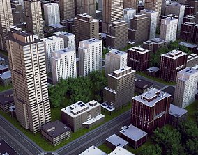 3D model City Block 05