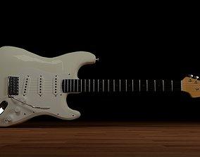 various-models Fender Stratocaster 3D