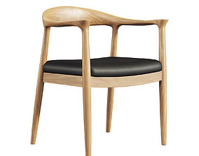 Wooden Chair 091 3D