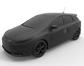 2014 Ford Focus ST 3D printable model