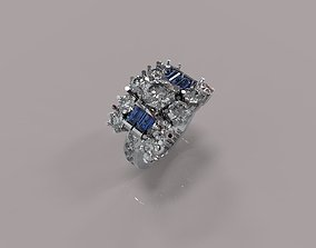 3D printable model Diamond ring style