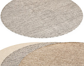 3D model BENUTA ROCCO WOOL RUG