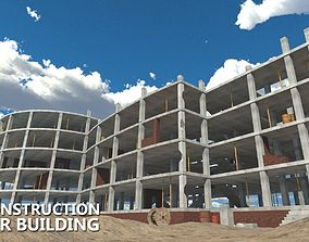 House construction - modular building 3D asset
