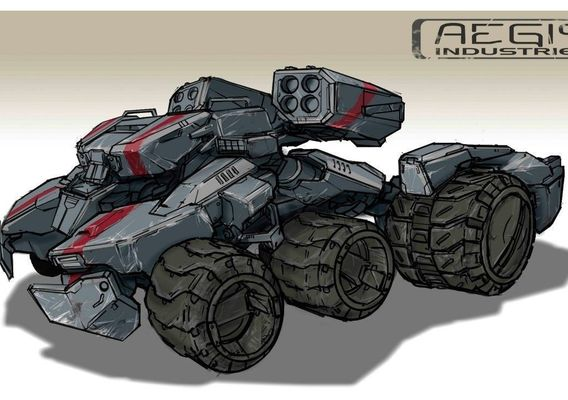 Vehicle concept-art