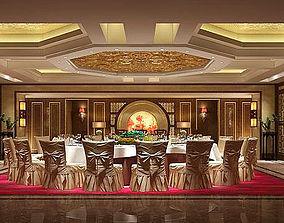 Business Restaurant - Coffee - Banquet 39 3D