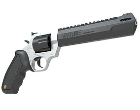 Taurus Raging Hunter 3D model animated
