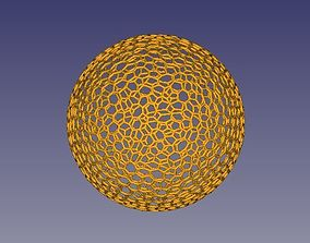 Voronoi globe sphere for 3D printing