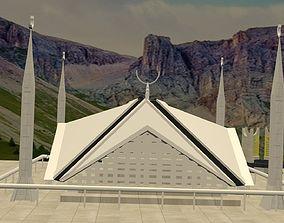 Faisal Mosque 3D model