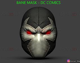 Bane Mask - DC comics 3D printable model
