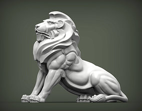 cat Lion for 3D printing
