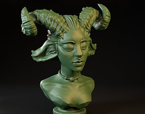 Fantasy Female Faun Professionally 3D print model