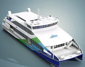 San Francisco Bay Ferry Hydrus 3D model
