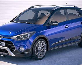 3D Hyundai i20 Active 2019