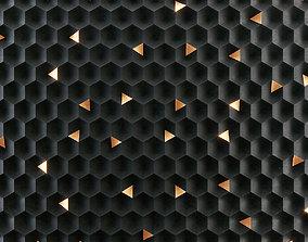 Honeycomb panel 3D