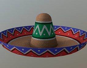 Sombrero 3D asset