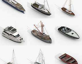 3D model Watercraft Collections