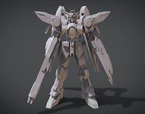 Wing Gundam Zero 3D printable model
