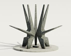 Kosmaj Monument 3D asset realtime