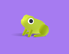 Froggy the Frog - Quirky Series 3D asset