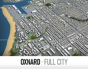 Oxnard - city and surroundings 3D model