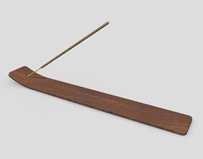 3D asset Incense Burner