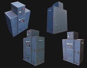 3D model Transformer Box WWII