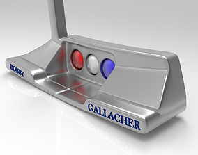 Golf Club Putter 3D model