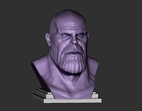 3D print model Thanos head