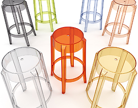 3D Charles Ghost Stool 4898