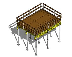 Parametric Concrete Slab Formwork - Revit 3D