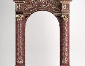 Jewish sacred gate 3D
