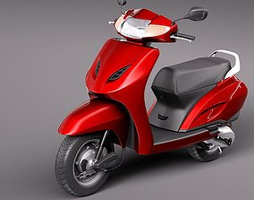 Honda Activa 2012 3D model